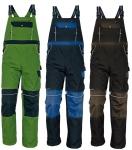 Pracovné odevy - Montérkové nohavice STANMORE  s náprsenkou