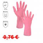 DOPREDAJ! Pracovné rukavice MAPA VITAL ECO máčané v latexe s velúrovou úpravou vo vnútri rukavíc a reliéfnym vzorom pre lepší úchop na dlani a prstoch. Dĺžka 30,5 cm. Veľkosť 8, 9. Normy: EN 374-2, EN 374-1, EN 388 (1x1x)