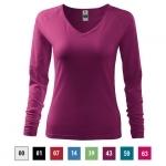 Pracovné odevy - Dámske tričko ELEGANCE (Nr.127) dlhý rukáv