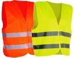 Pracovné odevy - Vesta reflexná ALEX s logom