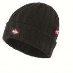 NA OBJEDNANIE! Klasická čierna zimná čiapka Lee Cooper zo žiabrového úpletu. Materiál: 50% akryl, 50% bavlna. Farba: čierna. Veľkosť: uni