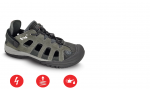BEŽNE SKLADOM!  Obuv  TRIPOLIS O1 trekingová obuv sandálového typu, kožená v kombinácií s textilom, pohodlná a odolná obuv. Protišmyková podrážka. Veľkosť: 41-47