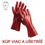 Rukavice celomáčané RAY / REDSTART - 45cm - cena od 1,25 €
