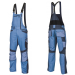 Pracovné odevy - Montérkové nohavice R8ED+ 03 s náprsenkou