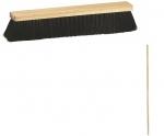 Zmeták 40 cm drevený + násada drevená 180 cm, polomer 2,5 cm.