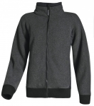 DODANIE 3-7 dní! Pánska zimná fleecová bunda Lurgan na zips. Veľmi teplá a pohodlná na nosenie. Pás a rukávy sú zakončené úpletovou manžetou čiernej farby. Veľkosť: S-3XL