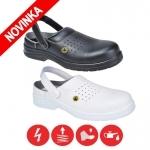 Pracovná obuv – Sandále CLOG FC03 SB ESD (nekovová)