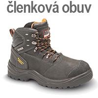Zimné pracovné topánky - zateplená zimná členková obuv - Pracovné odevy Zigo - chránená dielňa - náhradné plnenie