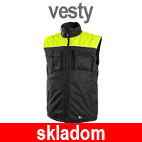 Zimné pracovné vesty - Zateplené nepremokavé vesty - Pracovné odevy Zigo - chránená dielňa - náhradné plnenie