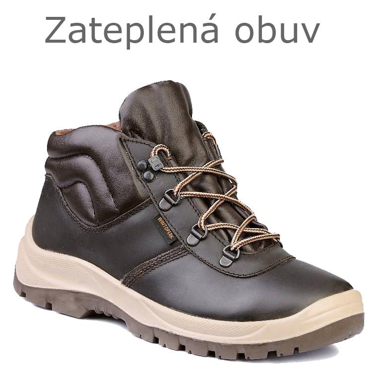 Zateplená obuv