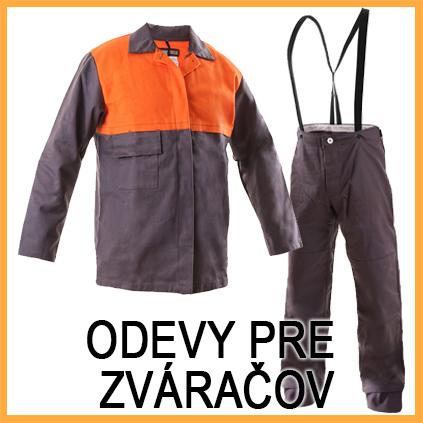 Odevy pre zváračov - Zváracie blúzy a zvárcie nohavice - zváračské pracovné odevy