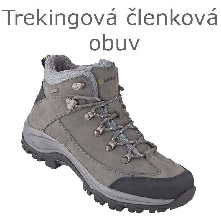 Trekingová členková obuv