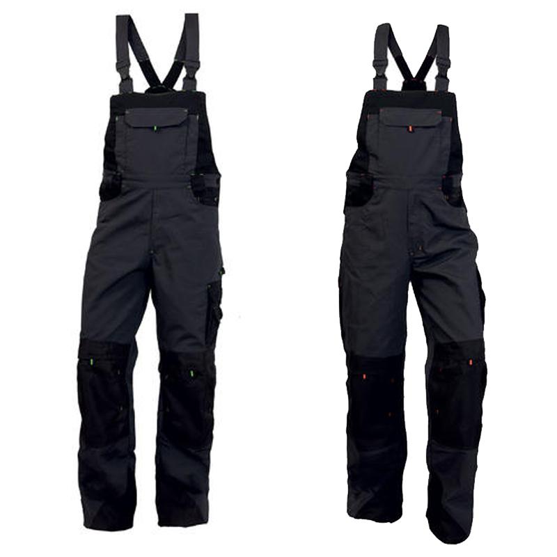 Montérkové nohavice TRISTAN s náprsenkou