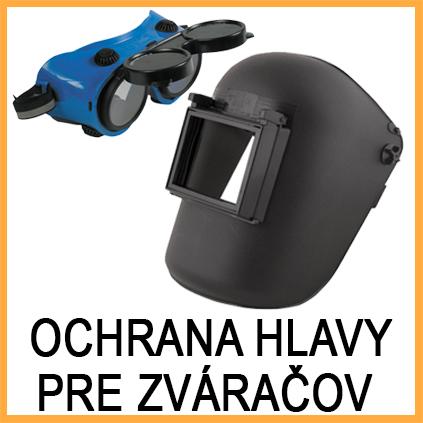 Ochrana hlavy pre zváračov - zváračské okuliare - prilby pre zváračov - Pracovné odevy Zigo