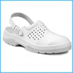 Pracovná obuv biela - sandále