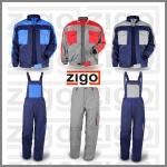 Pracovné odevy - ZIGO výroba