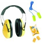 Ochrana sluchu (slúchadlá, štuple do uší, zátky)
