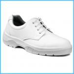 Pracovná obuv biela - poltopánky