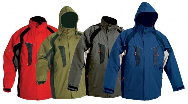 Pracovné odevy - Zimná bunda NYALA nepremokavá. Zväčšiť 4f26bb25666