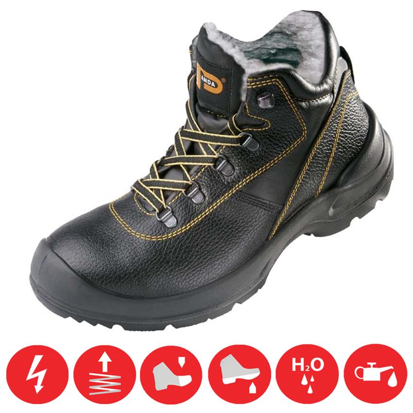 70865f06539b Pracovná obuv zateplená bezpečnostná PANDA ORSETTO S3 WINTER Zväčšiť