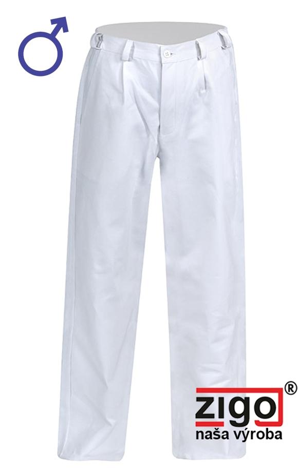 5ffdfc1a237 Pracovné odevy - Nohavice PATRIK pánske biele