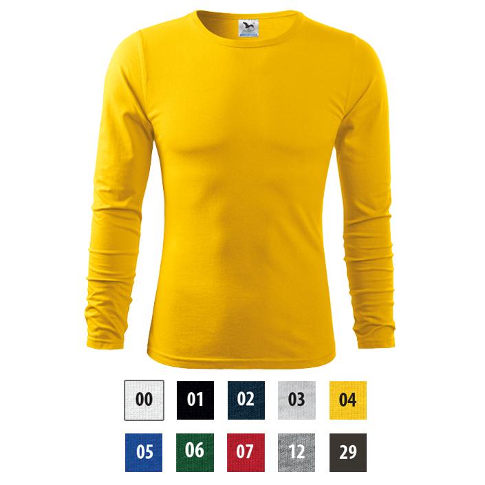 7cae7488b Kvalitné pánske tričko Adler FIT-T LONG SLEEVE s dlhým rukávom.