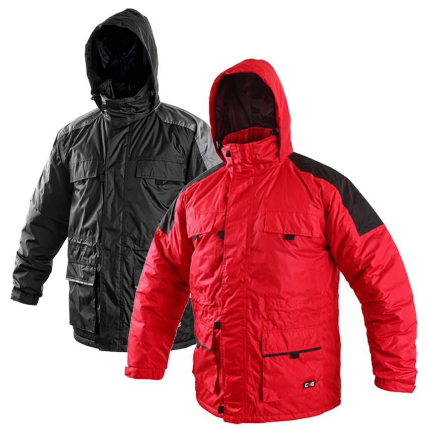 Pracovné odevy - Zateplená bunda FREMONT 20ca6dda245