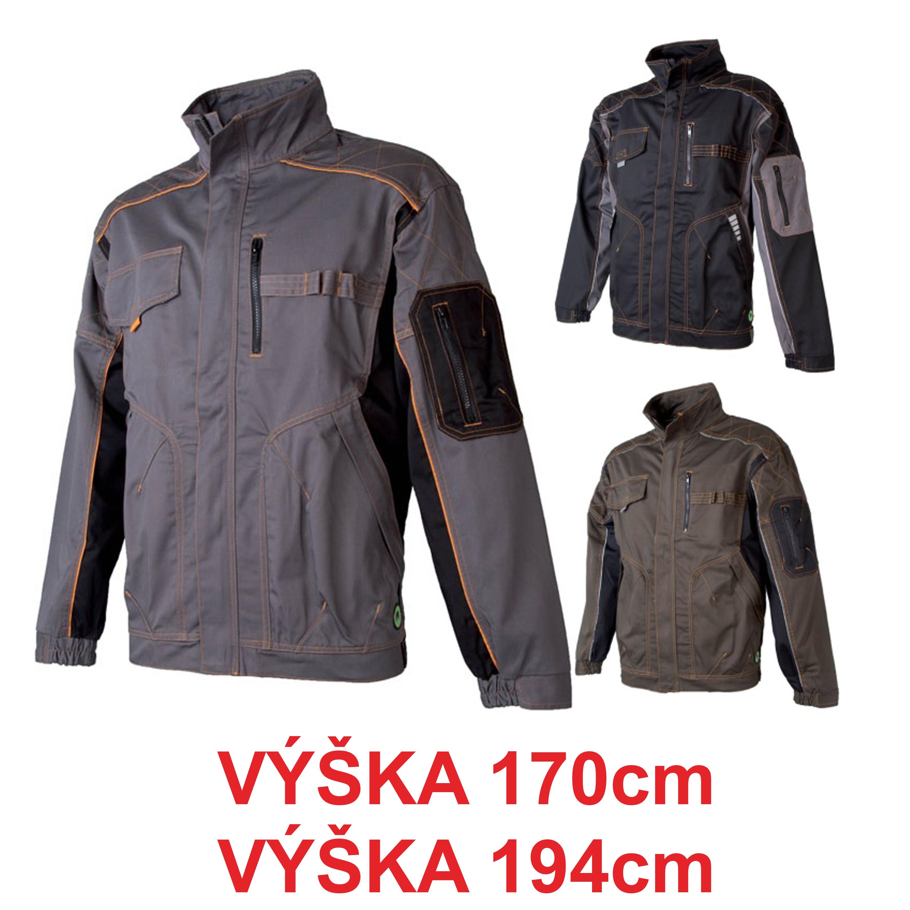 Pracovné odevy - Montérková blúza VISION 170 194 cm 171d0445eb