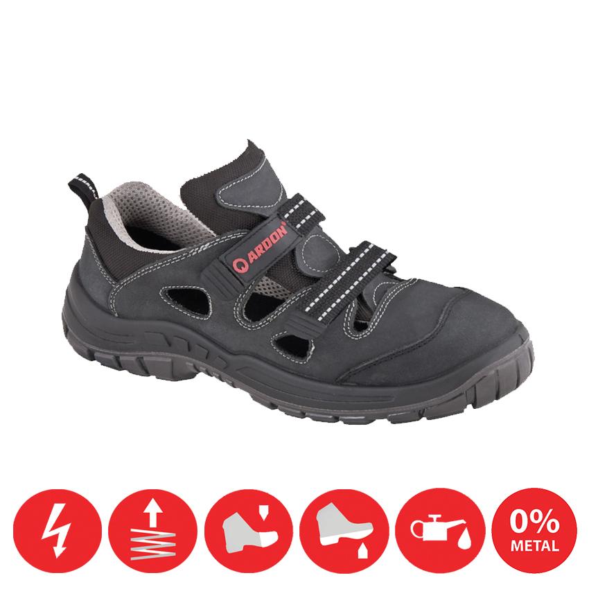 Pracovná obuv – Sandále BLENDSAN S1P (nekovová) 19ca920a7d