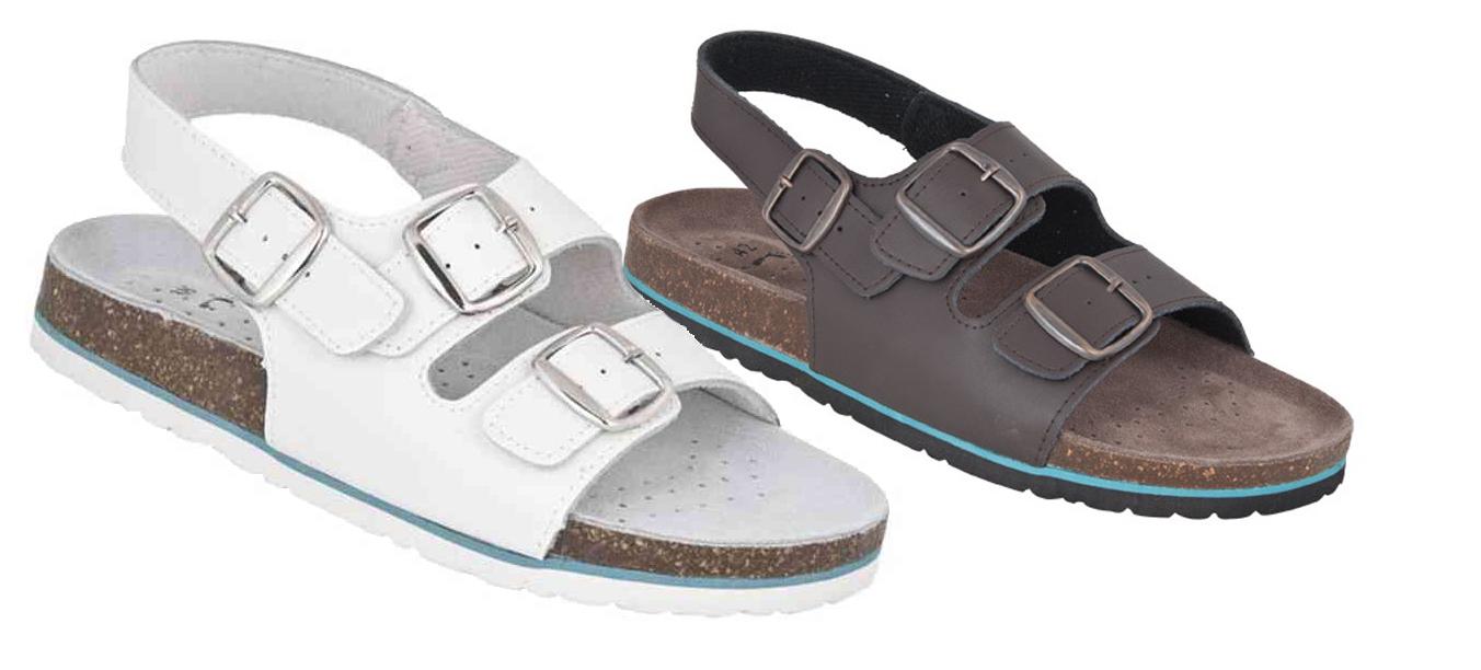 Pracovná obuv – Sandále MERKUR korkové 36ccc5764f