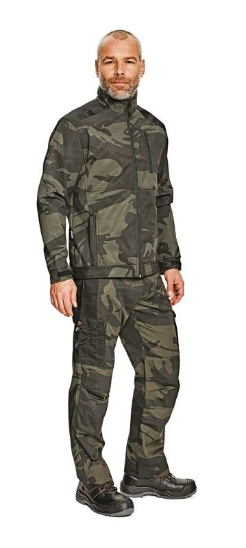 Pracovné odevy - Nohavice maskáčové CRAMBE do pása. Zväčšiť 21c9ab3818