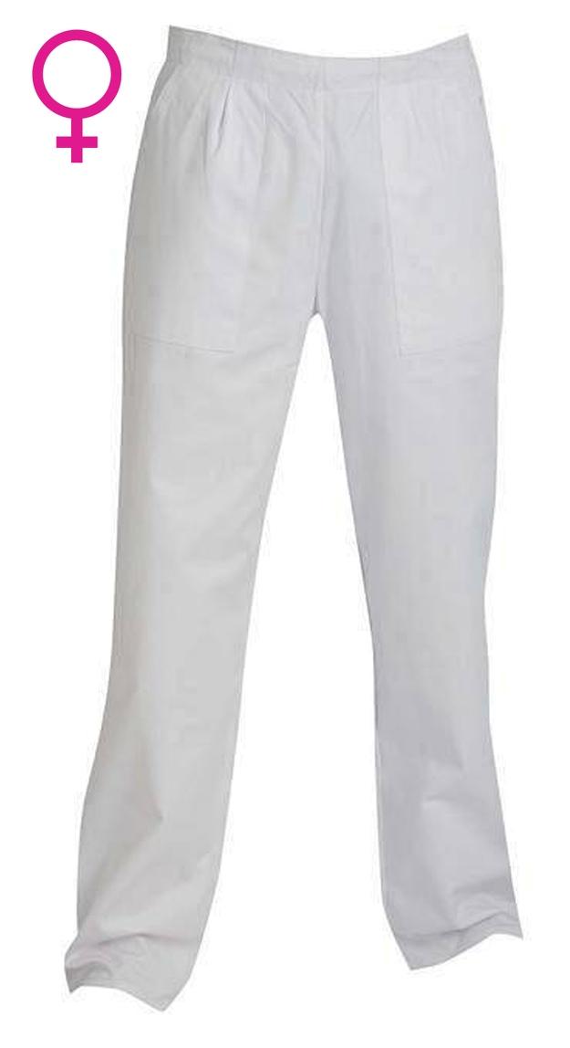 915be808c Pracovné odevy - Nohavice APUS dámske biele. Zväčšiť