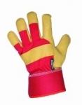 Pracovné rukavice Rose Finch červené (dámske) veľ. 9