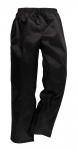 Pracovné odevy - Nohavice čierne na šnúrku (C070)