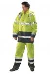 Pracovné odevy - Reflexná bunda OXFORD zateplená