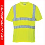 Pracovné odevy - Reflexné tričko S478 žlté - cena od 7,10 €