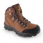 BEŽNE SKLADOM! Obuv GOTEX MONT BLANC, kombinovaná, trekkingová obuv.  Materiál: vrch z veľmi kvalitnej 2,2mm silnej nubukovej kože kombinovanej s vodeodolnou membránou GO-TEX,. kombinovaná podšívka z ovčej kože. Norma: EN ISO 20347. veľ.:37-46