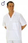 Pracovné odevy - Košeľa 2209 krátky rukáv pánska biela