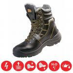 Pracovná obuv -zateplená poloholeňová PANDA TIGROTTO S3 WINTER