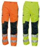 Pracovné odevy - Reflexné nohavice TICINO zosilnené kolená