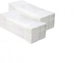 Papierové utierky Zik-Zak 3200ks, 2- vrstvové, biele, celulóza