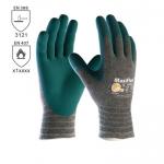 DODANIE 3-7 DNÍ! Pracovné rukavice ATG COMFORT 3-924 z úpletu nylon / lycra / bavlna sú máčané v nitrilovej pene. Bez prímesy silikónu. Odolné kontaktnému teplu do 100 °C. Veľkosť 10. Norma EN 388 (3121)