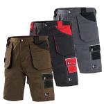 Pracovné odevy - Montérkové krátke nohavice DAVID
