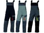 Pracovné odevy - Montékové nohavice s náprsenkou D-MACH