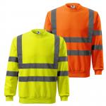 Pracovné odevy - Reflexná mikina Adler HV Essential