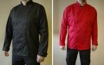 Pracovné odevy - Rondon kuchársky - naša výroba (čierny,červený)