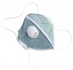 Respirátor skladací REFIL 641 ventil, FFP2 bal.15ks