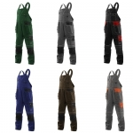 Pracovné odevy - Montérkové nohavice KRYŠTOF s náprsenkou