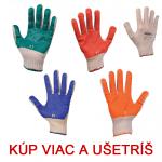 Pracovné rukavice SCOTER - cena od 0,29 €