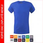 BEŽNE SKLADOM! Kvalitné tričko KEYA s krátkym rukávom. Tričko má tubulárny strih bez bočného prešitia. Na ramenách je spevnený šev. Materiál: 100% bavlna, 180 g/m2. Veľkosť: S-3XL.